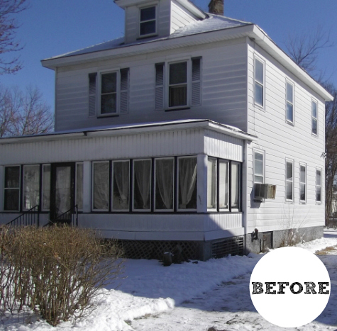 Colonial Style House in NJ BEFORE Reno