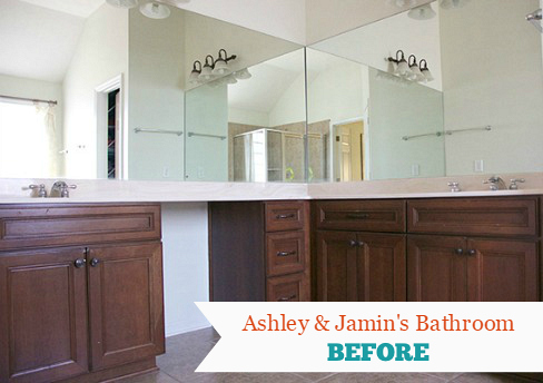 The Handmade Home Blog: Bathroom Makeover BEFORE