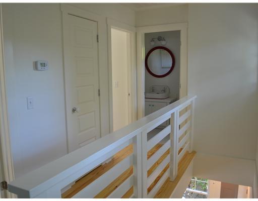 upstairs landing of beach house