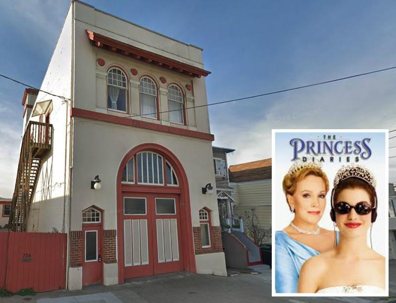 Princess Diaries Firehouse 724 Brazil Ave San Francisco