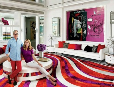 "Tommy Hilfiger's ""Pop Art Meets Disco"" Beach House"
