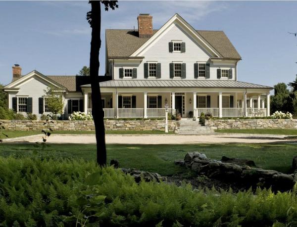 Modern Farmhouse Style In The Berkshire Woods By Crisp