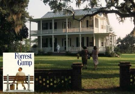 Forrest Gump movie house