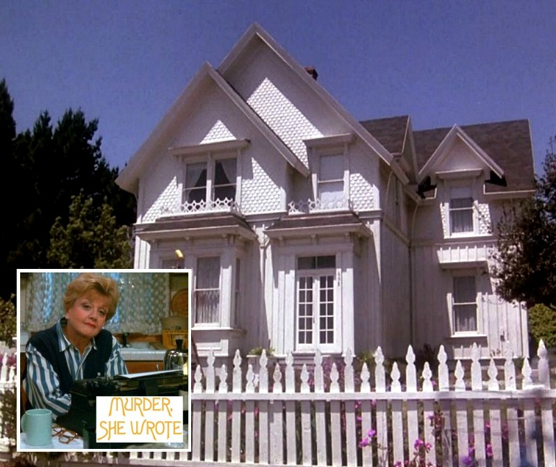 Jessica Fletcher's House in Murder She Wrote Blair House Mendocino