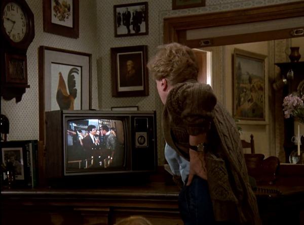 Jessica Fletcher watching TV