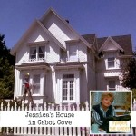 "Jessica Fletcher's house in Cabot Cove ""Murder She Wrote"" 