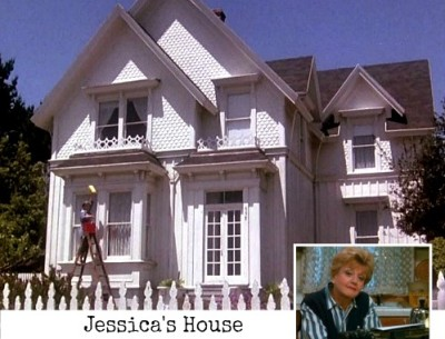 "Angela Lansbury's Victorian in ""Murder, She Wrote"""