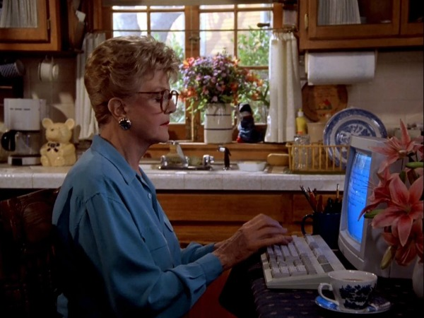"Jessica Fletcher's House in ""Murder, She Wrote"" 