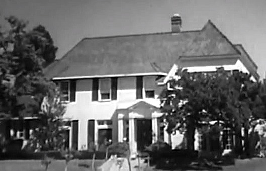Ozzie and Harriet Nelson House in Opening Credits