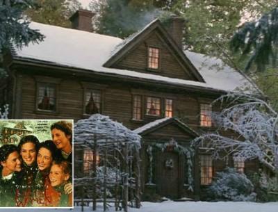 "Louisa May Alcott's Orchard House in ""Little Women"""