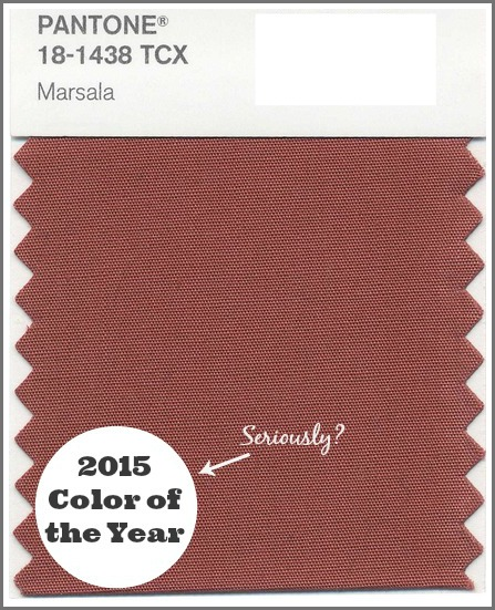 Pantone\'s 2015 color of the year