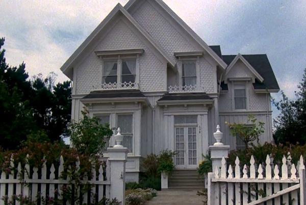 "Jessica Fletcher's House on ""Murder She Wrote"""
