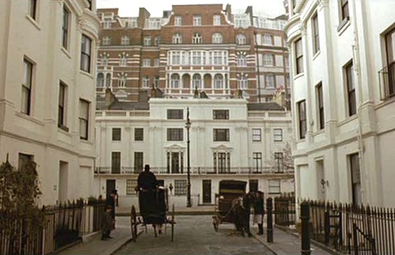 Wickham Place exterior Howards End movie