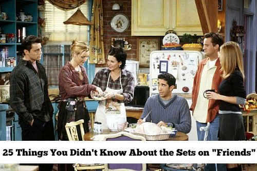 Set Design on Friends | hookedonhouses.net