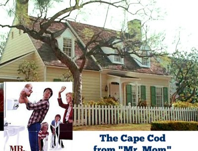 Cape Cod from Mr. Mom movie | hookedonhouses.net