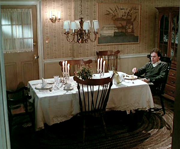 Cape Cod house in Mr. Mom movie dining room