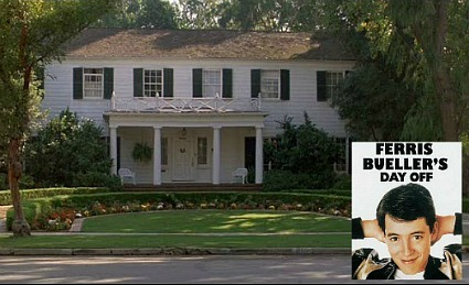 Ferris Bueller's house in the movie