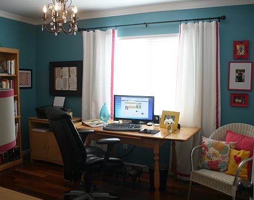 Julia's home office