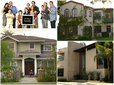 Modern Family TV Show Houses and Set Design
