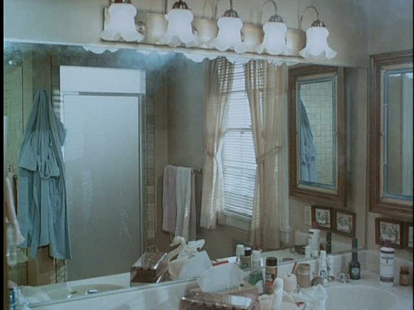 Mr. Mom movie set design 1980s bathroom