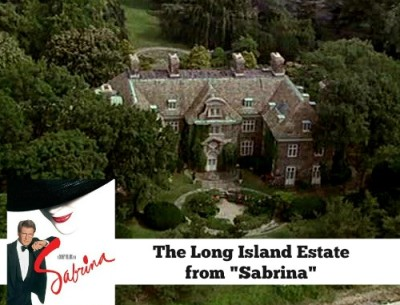 "The Long Island Estate in the Movie ""Sabrina"""