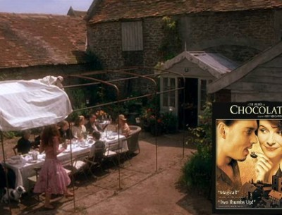 "The Charming French Village in ""Chocolat"""