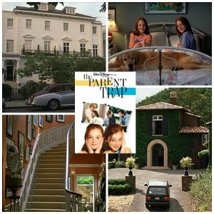 The Parent Trap 1998 movie remake filming locations