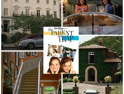 The Parent Trap Houses in Napa Valley & London