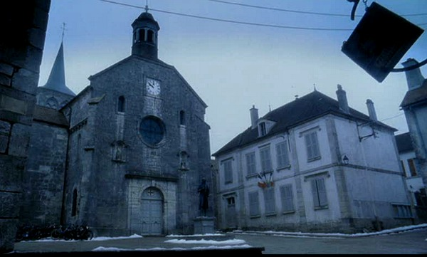 Village Square in the movie Chocolat