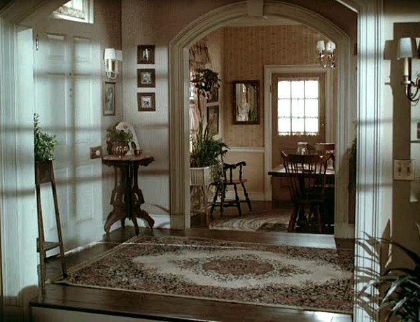 entry hall of Mr. Mom house