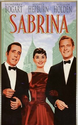 original Sabrina movie poster Audrey Hepburn
