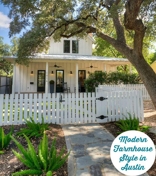 Modern Farmhouse For Sale in Austin | hookedonhouses.net