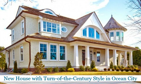 New House with Turn of the Century Style Ocean City