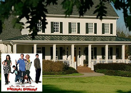 Parental Guidance white clapboard house
