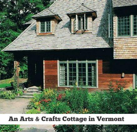 Artist Lark Upson's Storybook Cottage Vermont