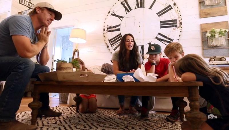 Gaines family in their farmhouse SSN3