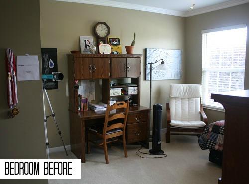 Jake's Bedroom BEFORE Makeover   hookedonhouses.net