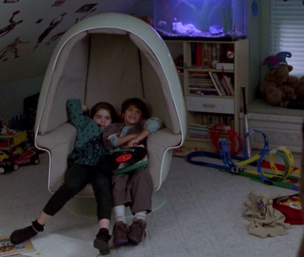 Jonah's room egg chair Sleepless in Seattle movie