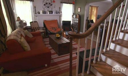 Matt and Marci's living room on LIOLI