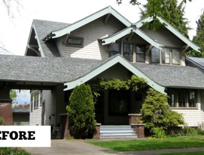 Before & After: Reviving a 1912 Craftsman in Portland