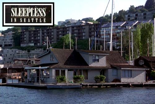 "Houseboat from ""Sleepless in Seattle"" movie | hookedonhouses.net"