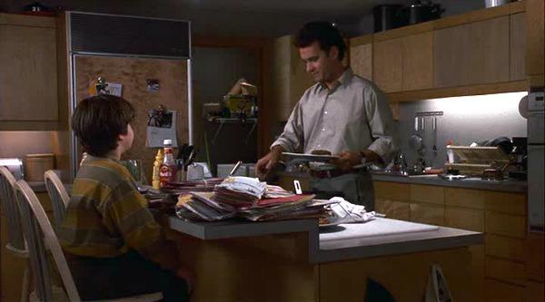 Tom Hanks in Sleepless in Seattle kitchen