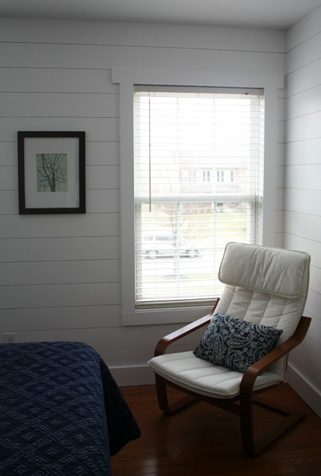 corner of bedroom with chair