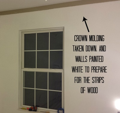 painting walls white