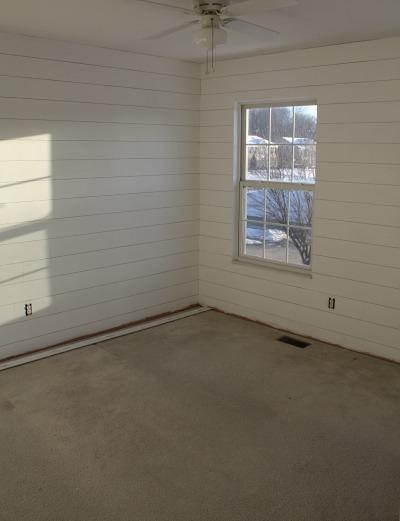 bedroom makeover BEFORE new flooring   hookedonhouses.net