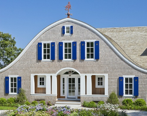 A new house inspired by classic shingled summer homes for New classic homes