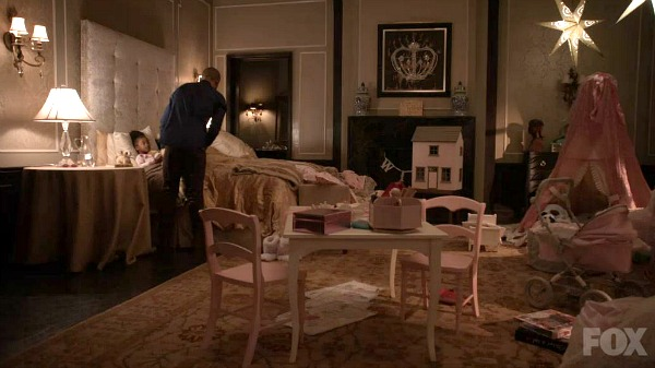 Lola's bedroom on TV show Empire