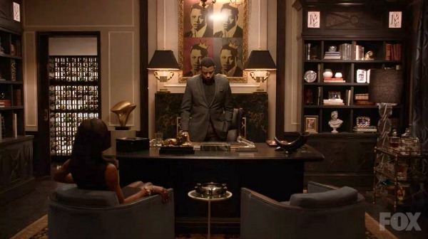 Lucious Lyon's Study on Empire