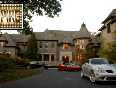 Lucious Lyon's mansion Empire TV show Fox