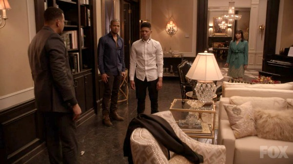 Lucious Lyon Mansion living room on Empire